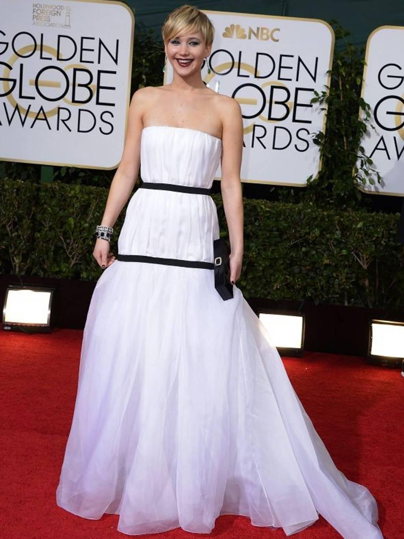 jennifer lawrence epa Jennifer  Lawrence  Red Carpet Fashion Style