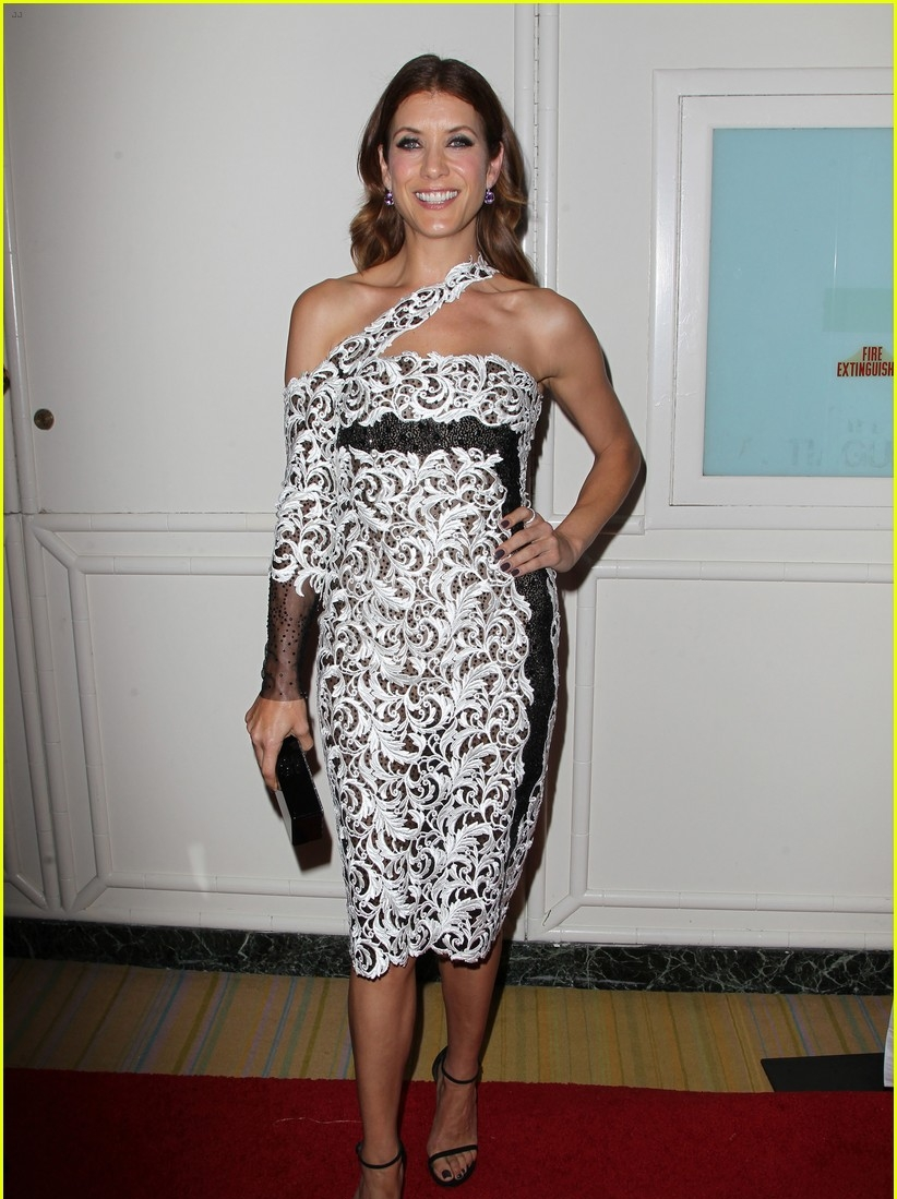 Kate -Walsh- wears - Georges- Chakra- Couture -at -the -2014 -Operation -Smile- Gala