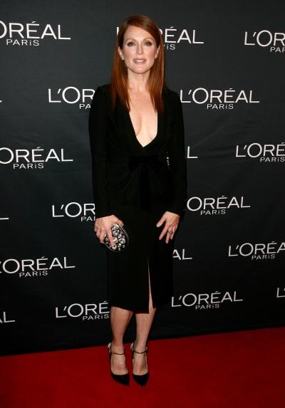 normal 0001  Julianne Moore at  L'Oreal And Julianne Moore Prepare For 'Still Alice' Premiere wearing  Altuzarra