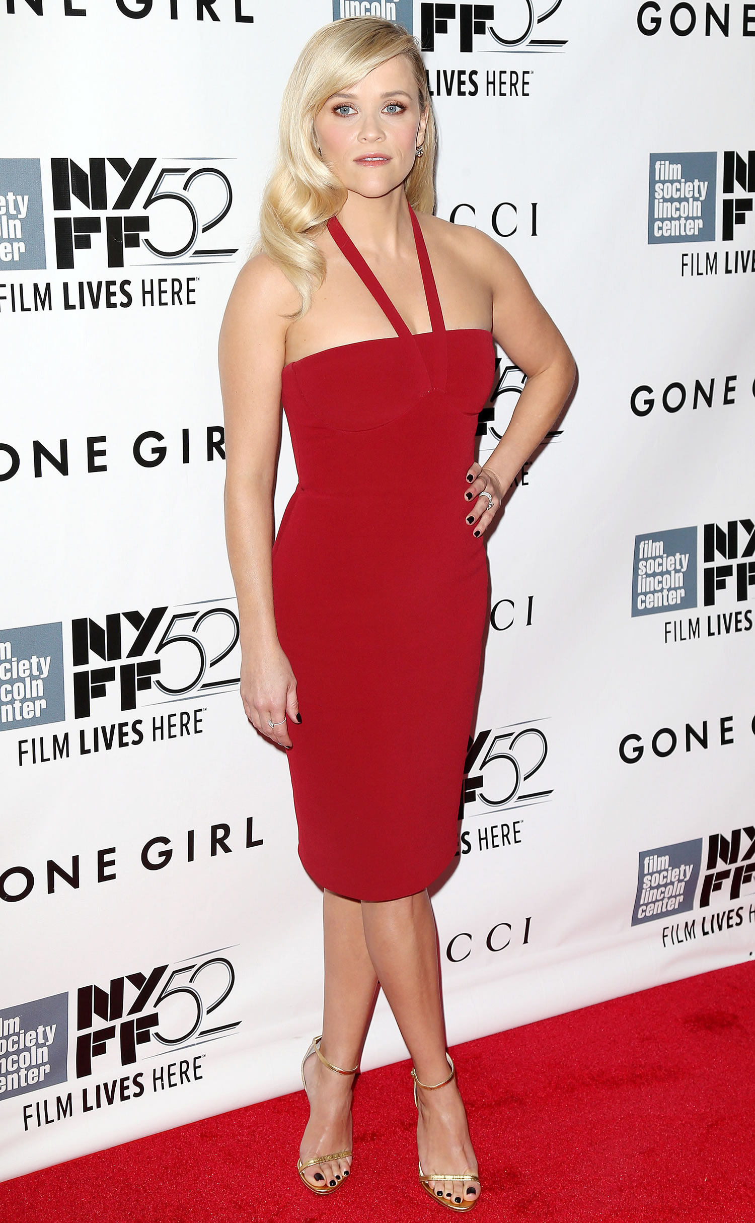 reese witherspoon gone girl gremiere 2014 new york film festival 1 Reese Witherspoon wears  Calvin Klein  at the 'Gone Girl' World Premiere