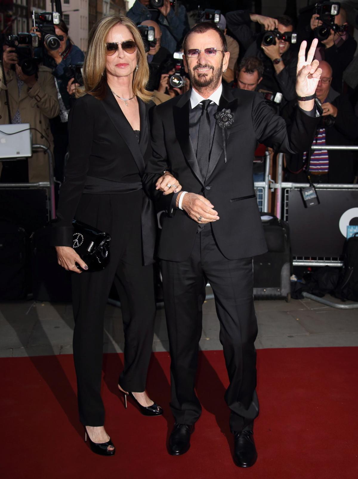 Beatles drummer Ringo Star and wife Barbara Bach