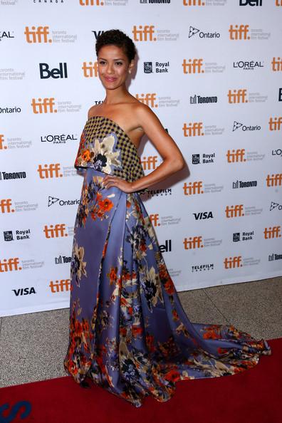 tumblr nbjci1FurQ1qlbj70o1 400 Gugu Mbatha Raw wears Delpozo   at  Beyond The Lights 2014 Toronto International Film Festival Premiere