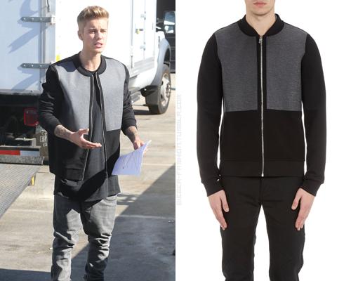 Balenciaga Coated Fleece Jacket in Black - $615.00