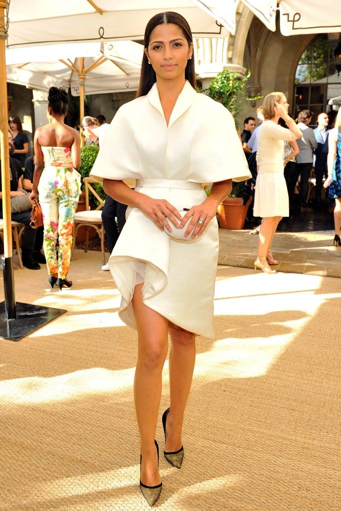 camila-alvess-voguecfda-fashion-fund-luncheon-ashi-spring-2015-custom-white-brushed-satin-dress/