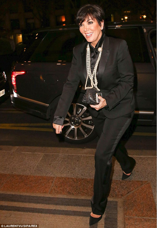 Kris-Jenner- -at- the- CR -Fashion -Book -Issue- N°5 -Launch- Party -Red -Carpet