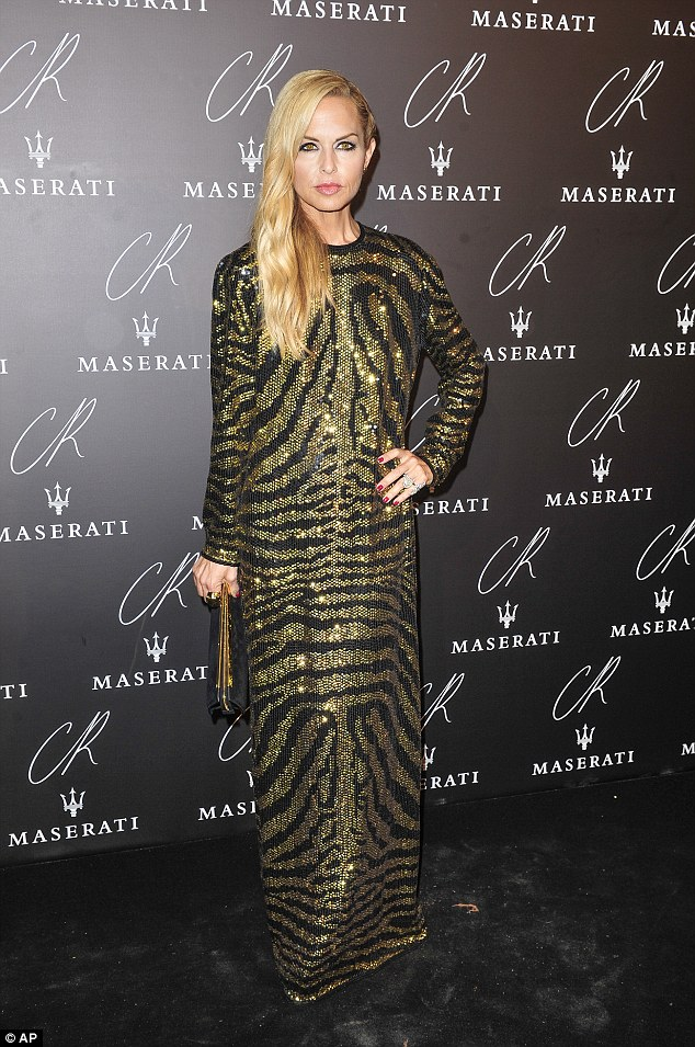 Rachel- Zoe -at- the- CR -Fashion -Book -Issue- N°5 -Launch- Party -Red -Carpet