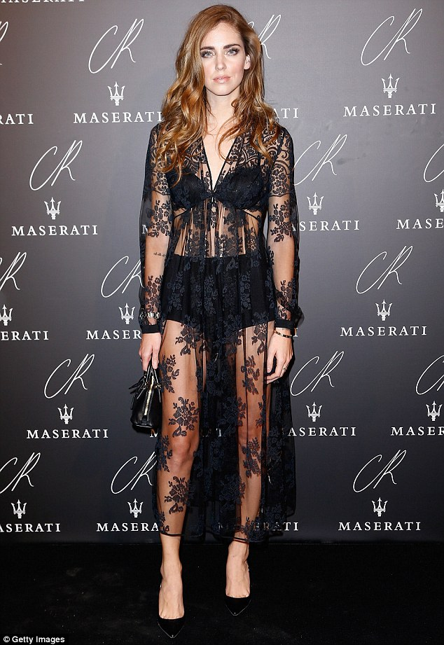 Chiara- Ferragni- at- the- CR -Fashion -Book -Issue- N°5 -Launch- Party -Red -Carpet
