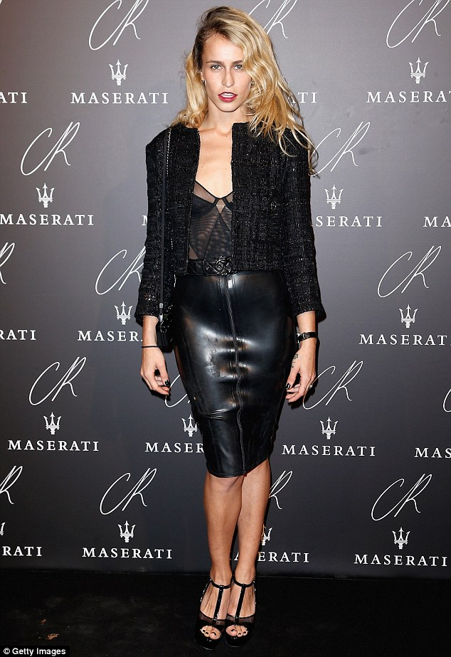 Alice- Dellal -at- the- CR -Fashion -Book -Issue- N°5 -Launch- Party -Red -Carpet