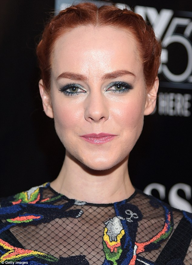 Jena -Malone- in -Valentino -at -the 52nd -New -York- Film- Festival