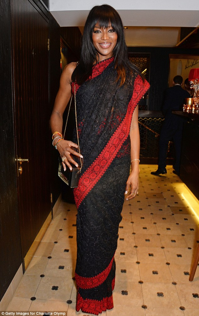 1414105850159 Image galleryImage LONDON ENGLAND OCTOBER 23   Naomi Campbell  – Charlotte Olympia 'Handbags for the Leading Lady' Launch Dinner