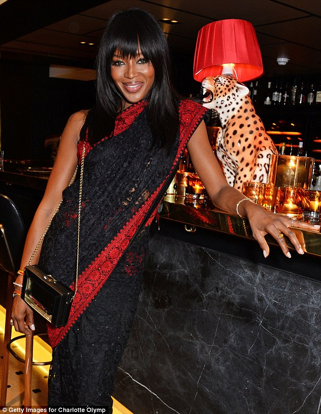 Naomi- Campbell – Charlotte- Olympia -'Handbags -for- the Leading --Lady'- Launch- Dinner