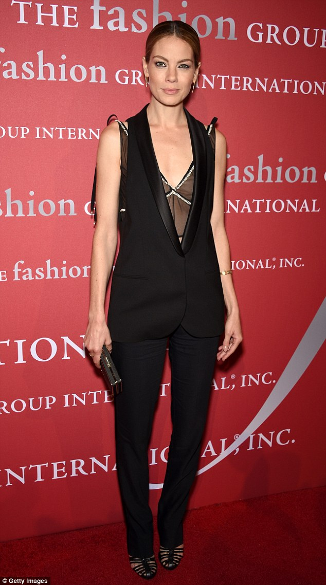 1414116176265 Image galleryImage NEW YORK NY OCTOBER 23 Mi Michelle Monaghan In Altuzarra  at  the 31st Annual FGI Night of Stars