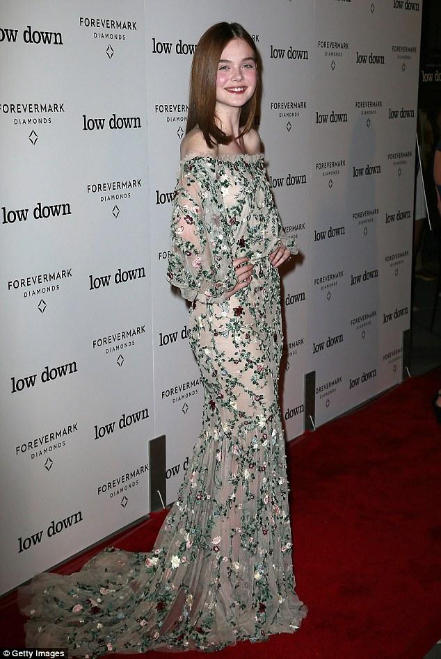 Elle Fanning – 'Lowdown' LA Premiere