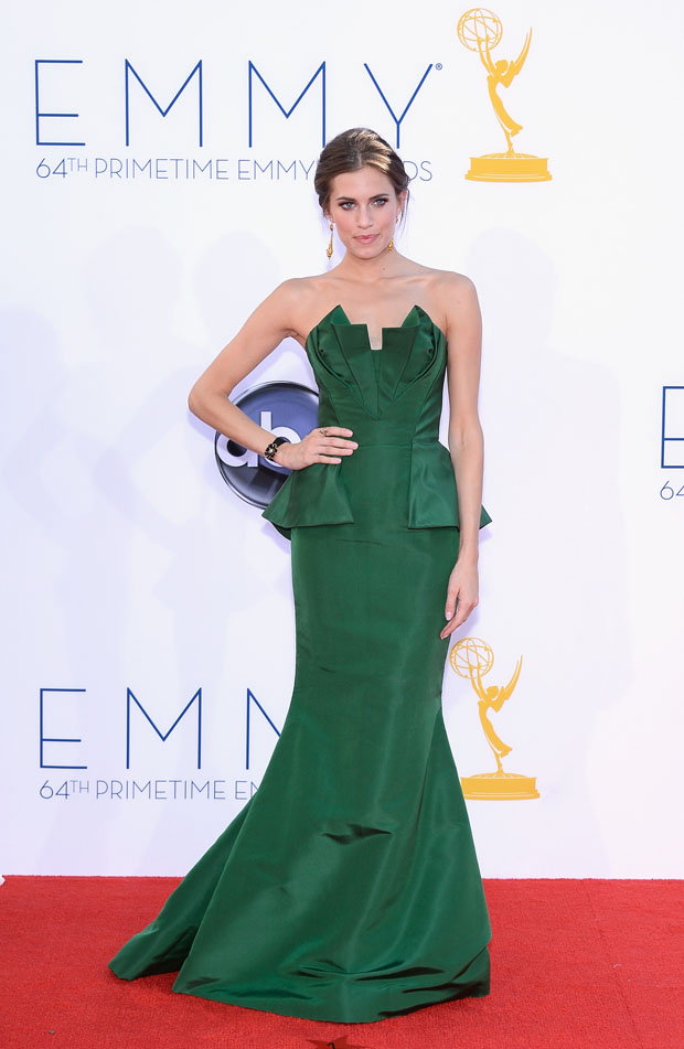 Allison Williams 2012 Emmy Awards