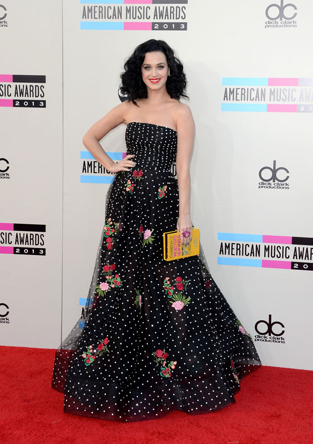 Katy Perry at the 2013 American Music Awards