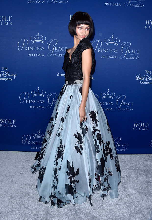 zendaya-coleman-vivienne-westwood-2014-princess-grace-awards-gala/2014-princess-grace-awards-gala-arrivals-