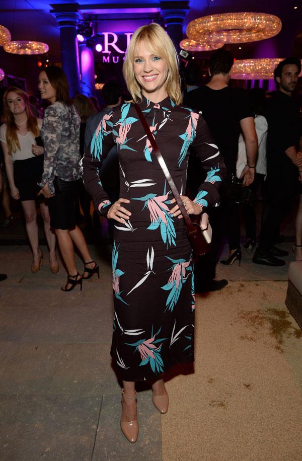 457695050  January Jones wears  Marni – RH West Hollywood The Gallery Opening