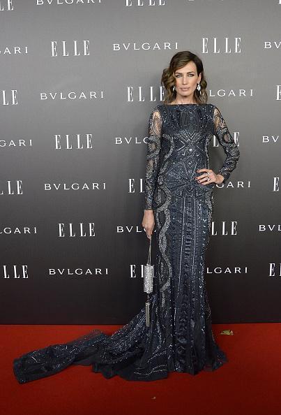 nieves-alvarez-roberto-cavalli-couture-elle-style-awards-2014/