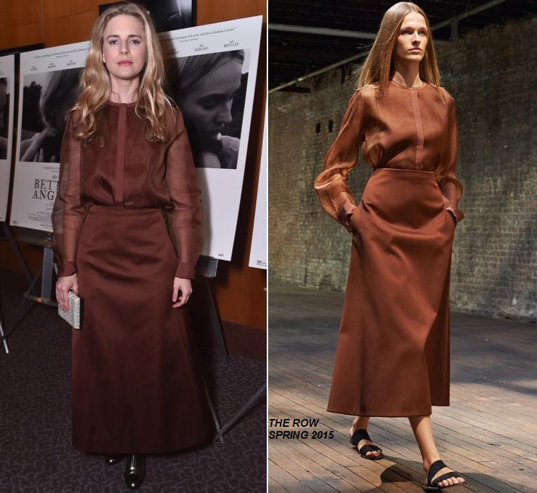 Brit Marling Brit Marling wears The Row – 'The Better Angels' LA Premiere