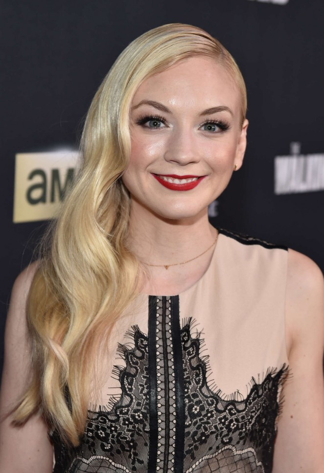 Emily Kinney The Walking Dead Season 5 La Premiere