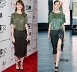 Emma Stone wears  Jason Wu – 'Birdman Or The Unexpected Virtue Of Ignorance' New York Film Festival