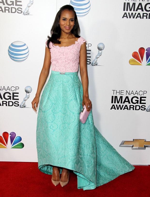 Kerry Washington – 2013 NAACP Image Awards