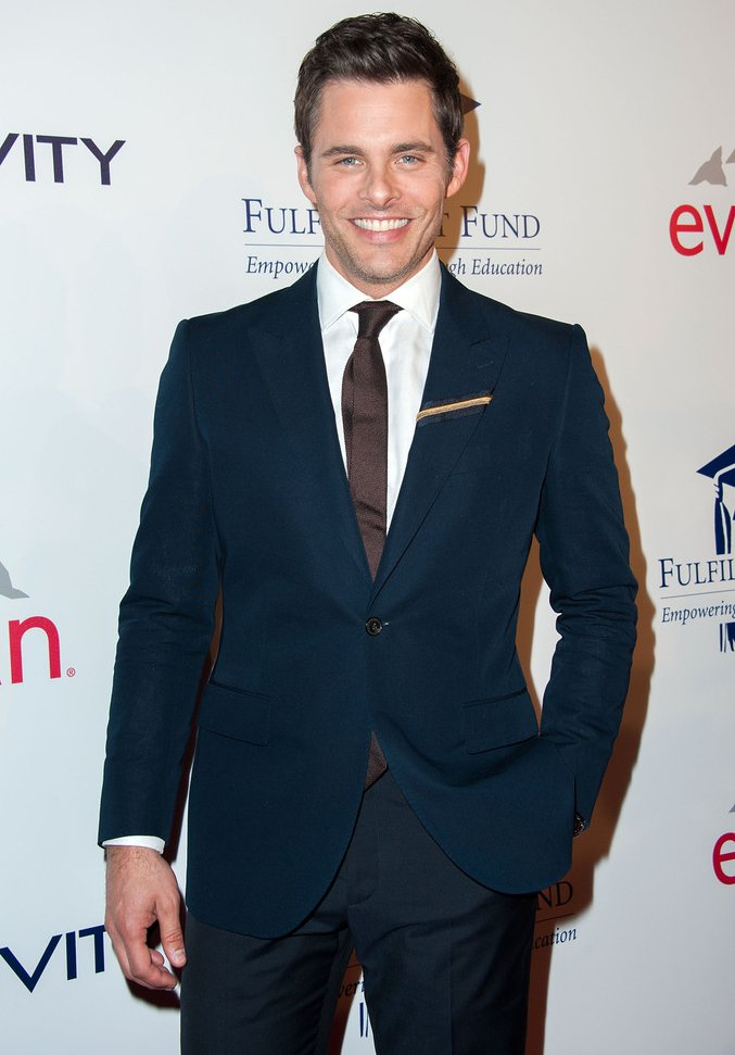 James Marsden 0012 James Marsden in   Kent and Curwen   The  20th Annual Fulfillment Fund Stars Benefit Gala
