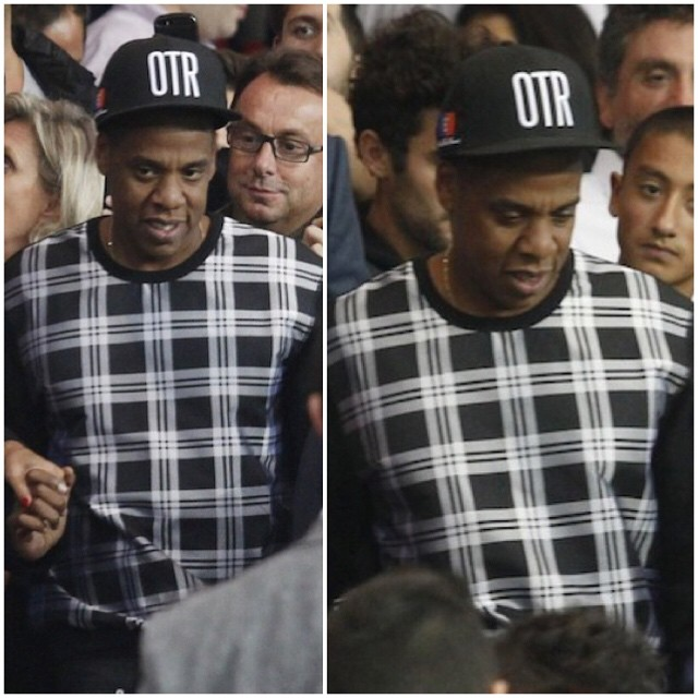 Jay-Z-wears-Alexander-McQueen-Check-Plaid-Front-Sweatshirt-at-soccer-game-beyone-knowles-11