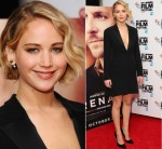 Jennifer Lawrence in Christian Dior at the 'Serena' 58th BFI London Film Festival Premiere