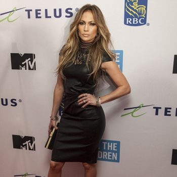 Jennifer-Lopez-in-Jitrois-Leather-Balquis-Sheath-Dress-and-Jimmy-Choo-Cosmic-Suede-Pumps-in-Vancouver-Canada-for-the-We-Day-Event-1