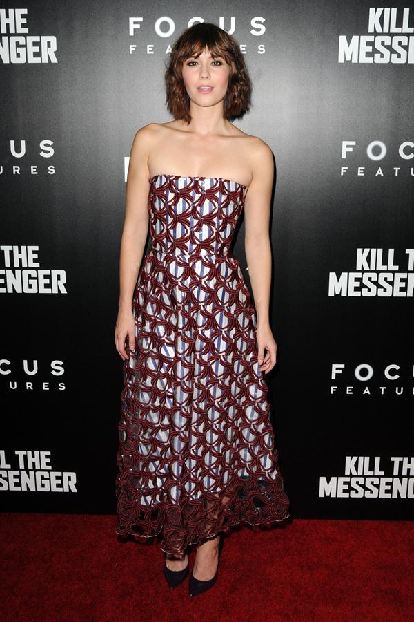 Mary Elizabeth Winstead dress Kill The Messenger New York Screening 4 Mary Elizabeth Winstead In Roksanda – 'Kill The Messenger' New York Screening