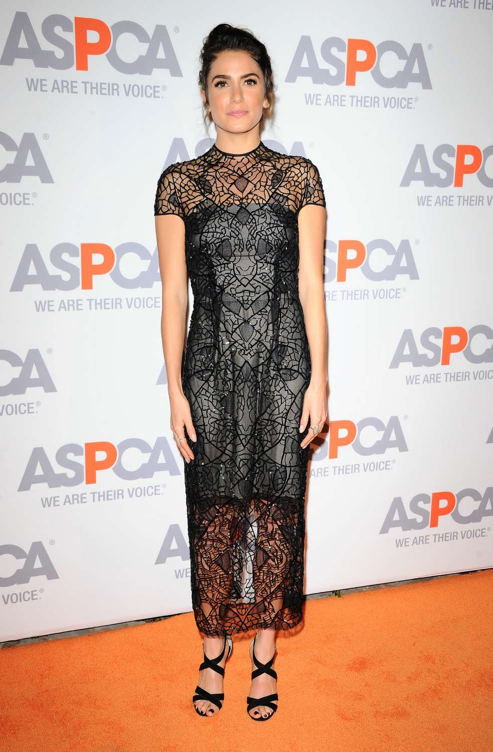 Milajovovich kaleycucuo nikki reed32 Nikki Reed wears  Monique Lhuillier – ASPCA Compassion Awards