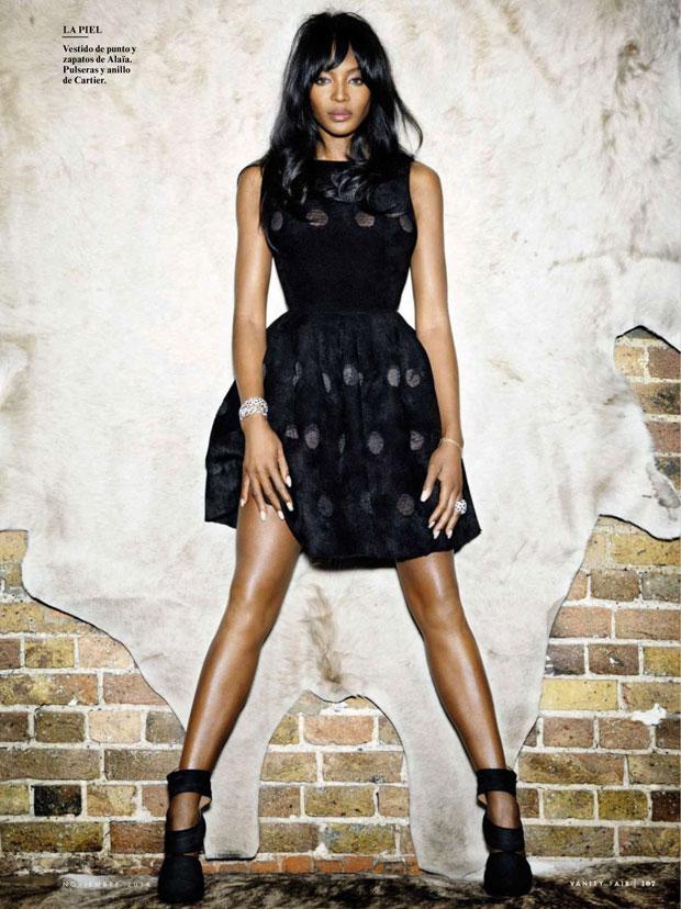 Naomi Campbell Covers Vanity Fair Spain November 2014 by Nico 2 Naomi Campbell covers  Vanity Fair  Spain  November 2014