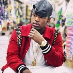 "Ne-Yo Wearing  Saint Laurent Red Leopard Teddy Jacket for ""She Knows"" Music Video"