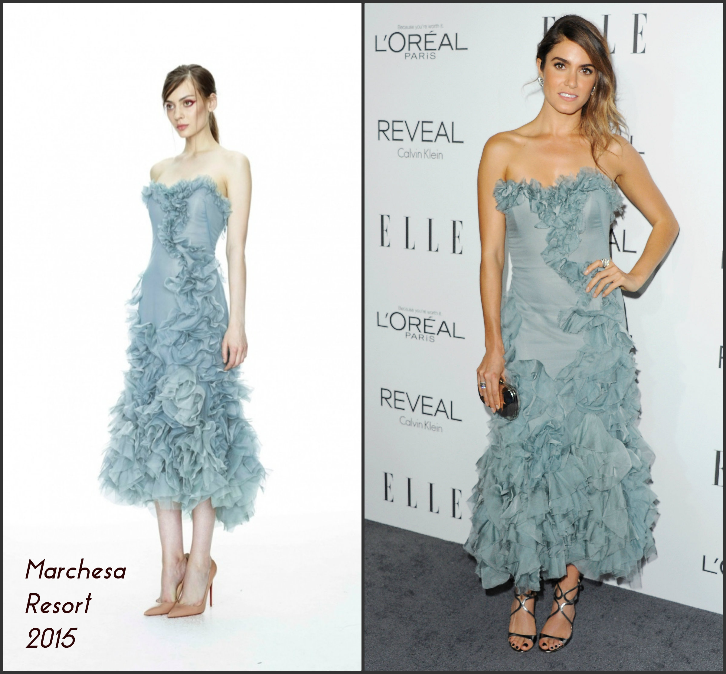 Nikki- Reed- In-Marchesa-Elle-21st-Annual -Women-In-Hollywood -Celebration