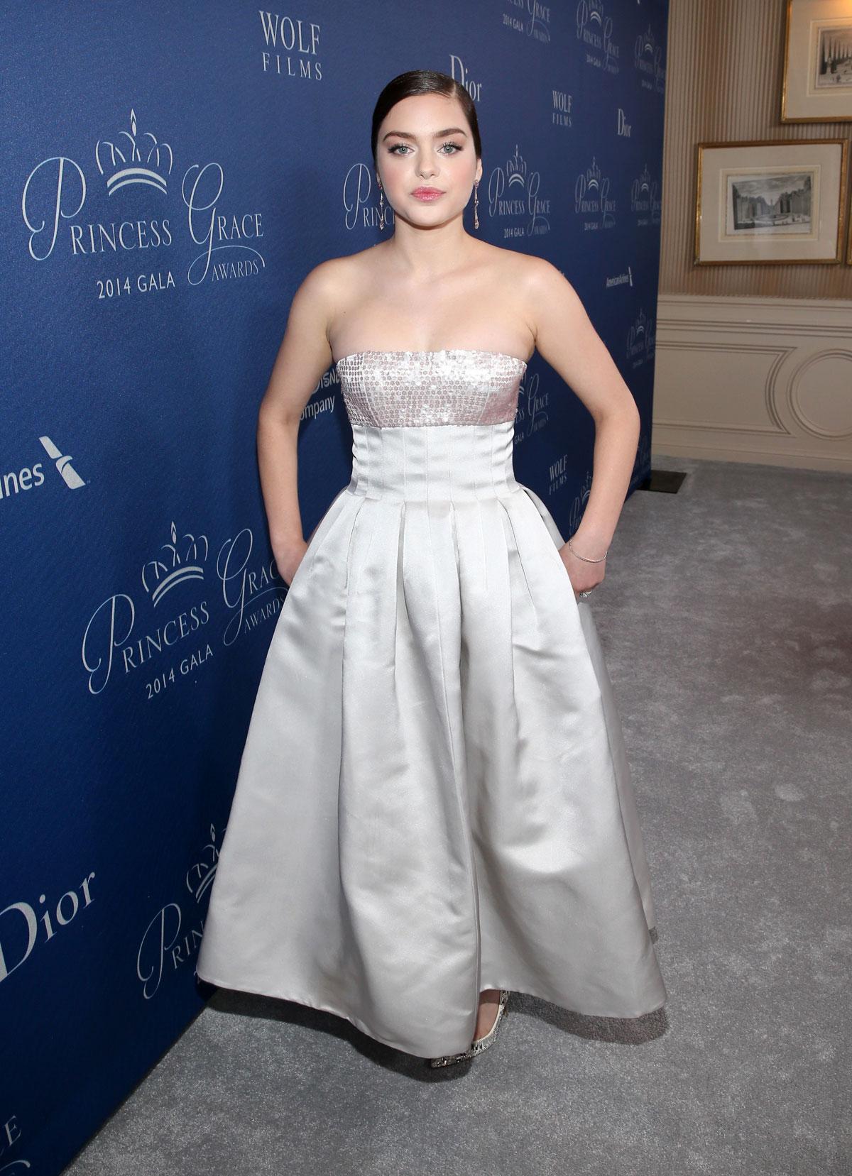 ODEYA RUSH at 2014 Princess Grace Awards Gala