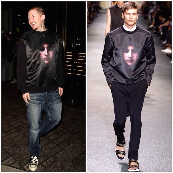 Professor+Green+wears+Givenchy+Madonna+print+sweatshirt+at+Mondrian+Hotel+London+launch+party+9th+October+2014