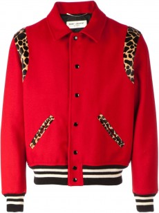 Saint-Laurent-Red-Teddy-bomber-leopard-jacket