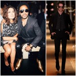 Lenny Kravitz wears  Saint Laurent – Paris Fashion Week SS2015