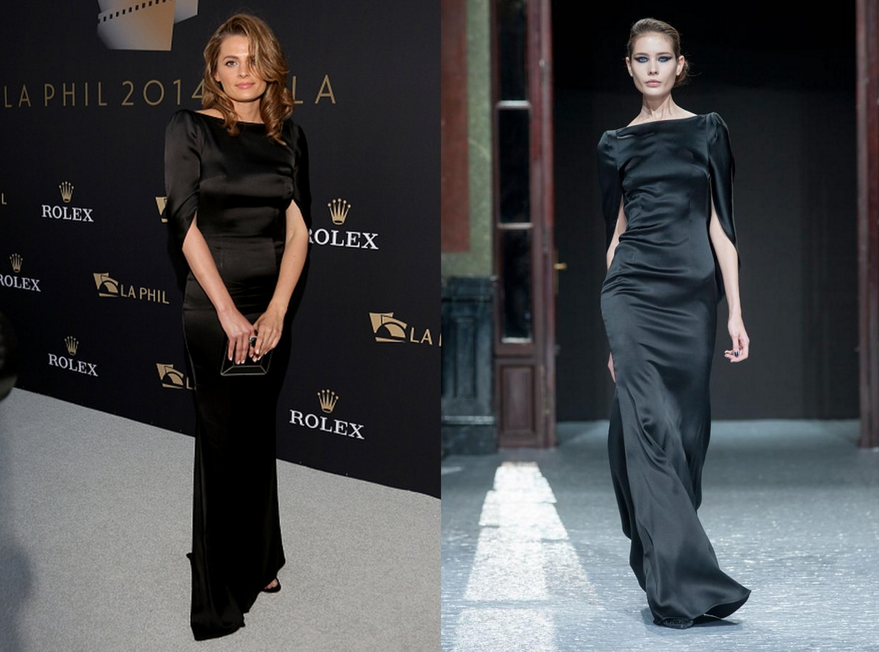 Stana-Katic-In-Talbot-Runhof-Los-Angeles-Philharmonic-Opening-Night-Concert-And-Gala