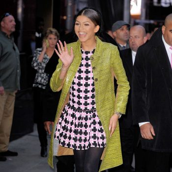 ZENDAYA COLEMAN at Good Morning America