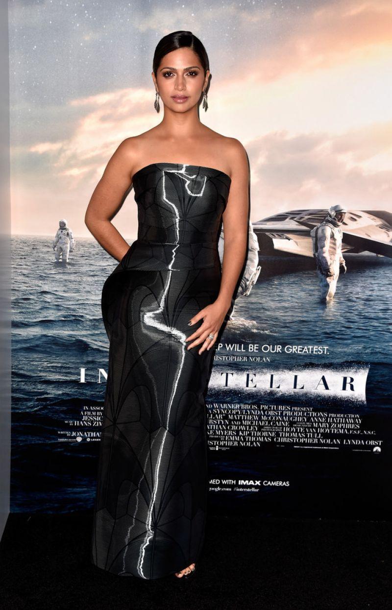 camila alves interstellar premiere in hollywood 1 Camila Alves In Rubin Singer – 'Interstellar' LA Premiere