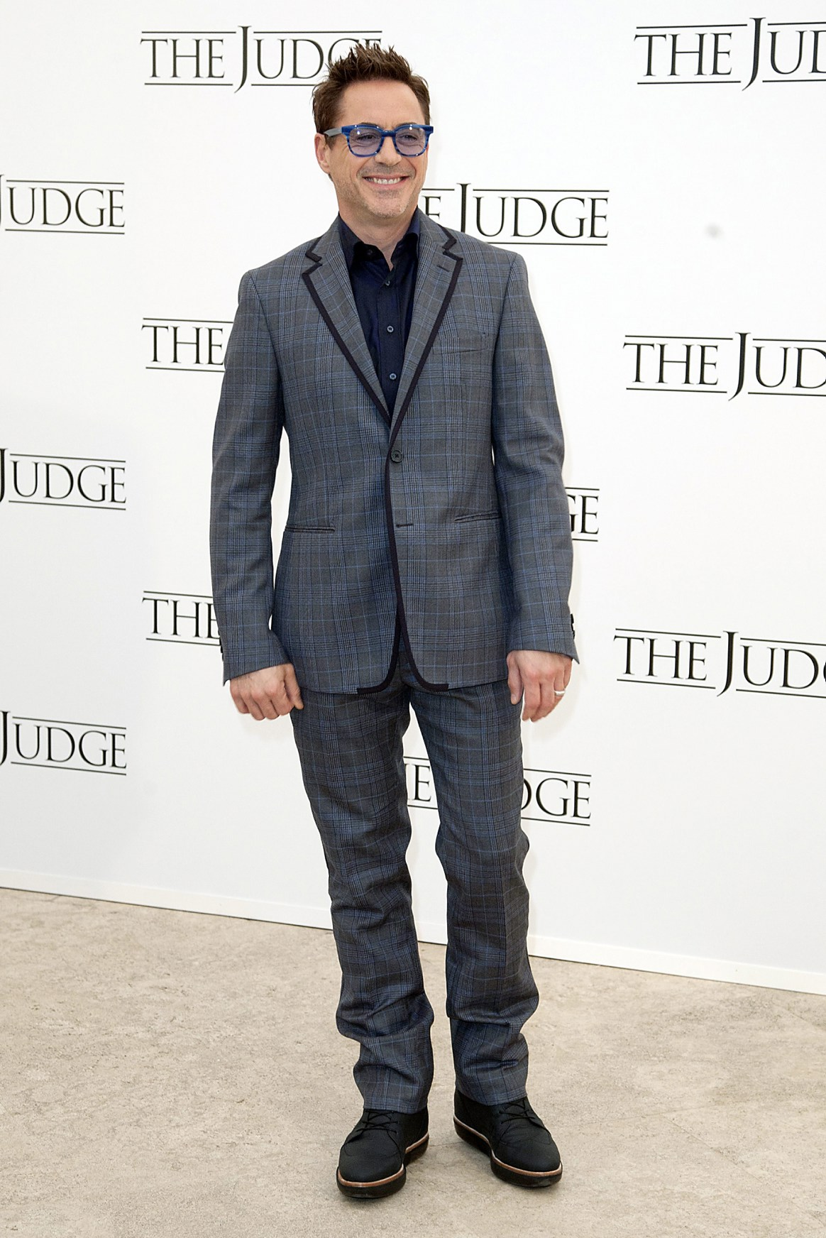 Robert Downey Jr. in Etro at 'The Judge' Rome photocall ...