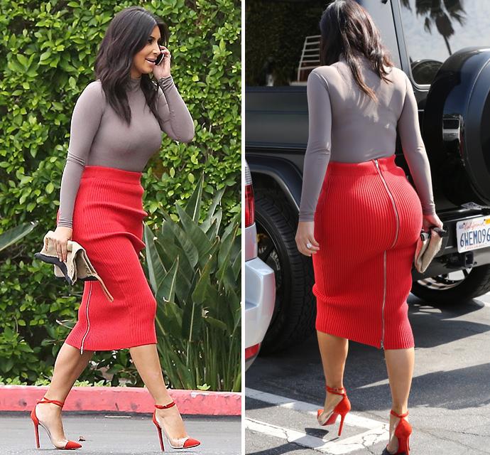 Kim_Kardashian__red-skirt-and -grey-top