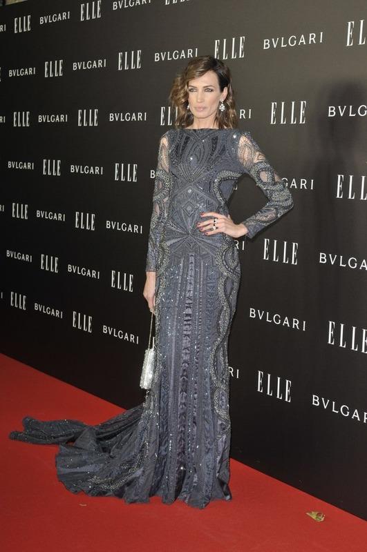 nieves alvarez ampliacion Nieves   Alvarez wears  Roberto Cavalli Couture – Elle Style Awards 2014
