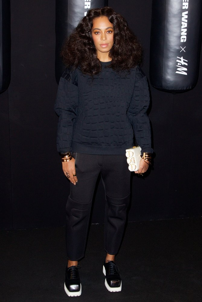 solange knowles alexander wang x h and m collection launch event 02 1 Alexander Wang x H&M Launch Event
