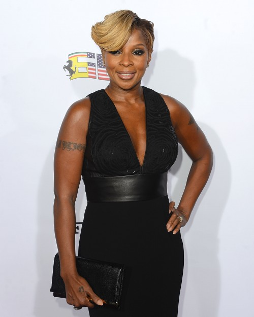 Mary -J.- Blige -Ferrari's- 60th- Anniversary -in- the- USA- Gala