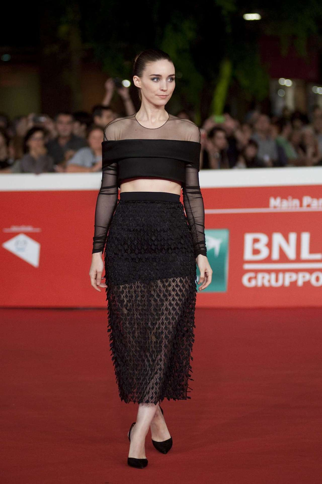 Rooney Mara in Balenciaga - 'Trash' 9th Rome Film Festival Photocall & Premiere