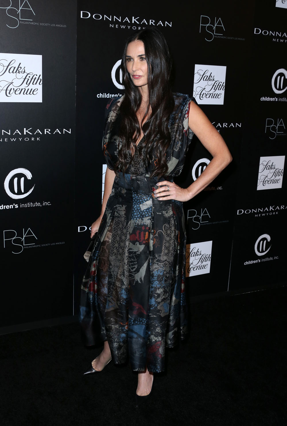 Demi- Moore- at -the- 5th- Annual- PSLA- Autumn- Party