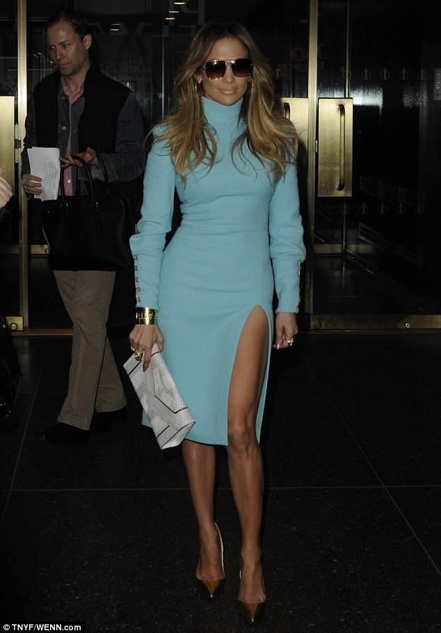 Jennifer -Lopez -in -Emanuel- Ungaro - Today- Show -'True -Love' -Book -Promo- Tour
